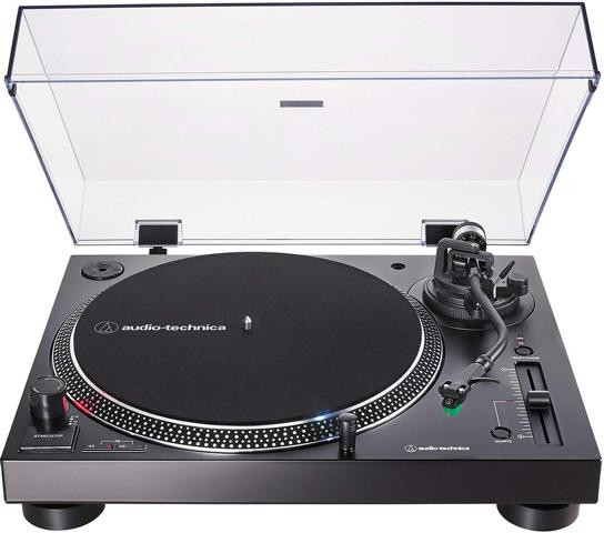 Audio-Technica AT-LP120XUSB Plattenspieler mit Direktantrieb inkl. Tonabnehmer AT-VM95E & Headshell