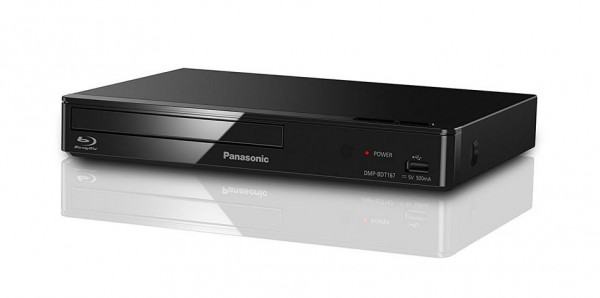 Panasonic DMP-BDT167 Kompakter 3D Blu ray Blueray Player Amazon Prime Video LAN