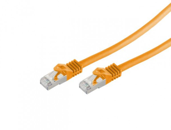 CAT7 Patchkabel Orange