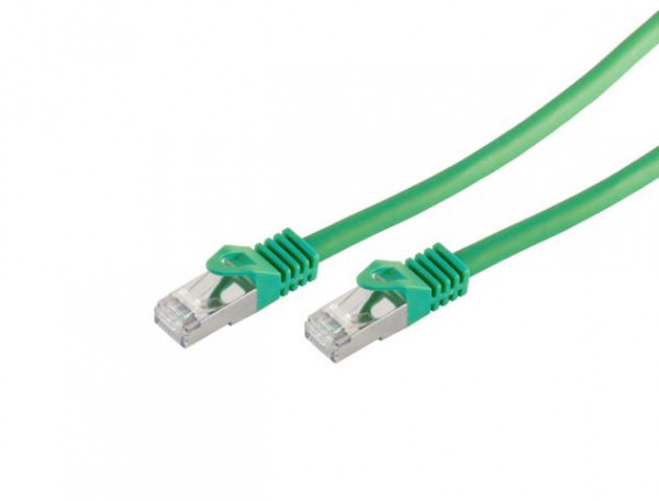 CAT7 Patchkabel Grün
