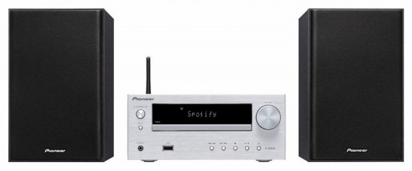 Pioneer X-HM36D-S Mini-System silber