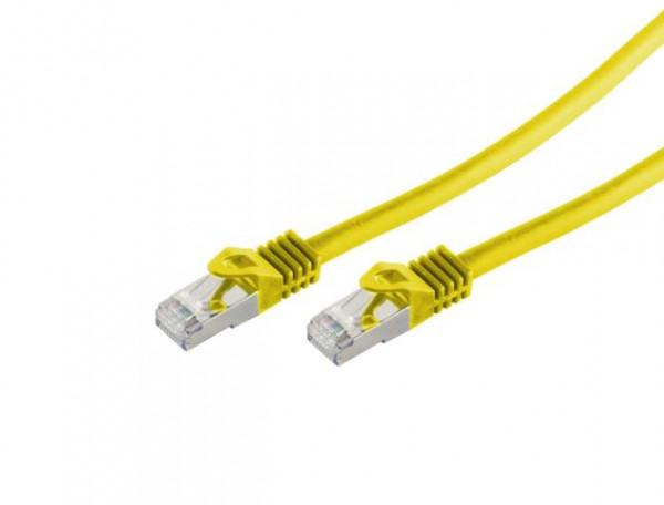 CAT7 Patchkabel Gelb